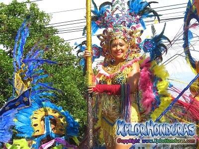 Alegria y Diversion Carnaval de La Ceiba 2018