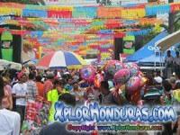 Antesala del desfile de carrozas La Ceiba 2015