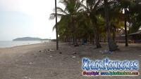Basura en las playas de Honduras