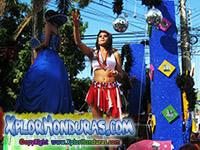 Carnaval de la ceiba 2014 Desfile de Carrozas Parte 3