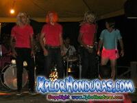 Carnaval de La Ceiba 2014 La Guanajeña y Los Porrones