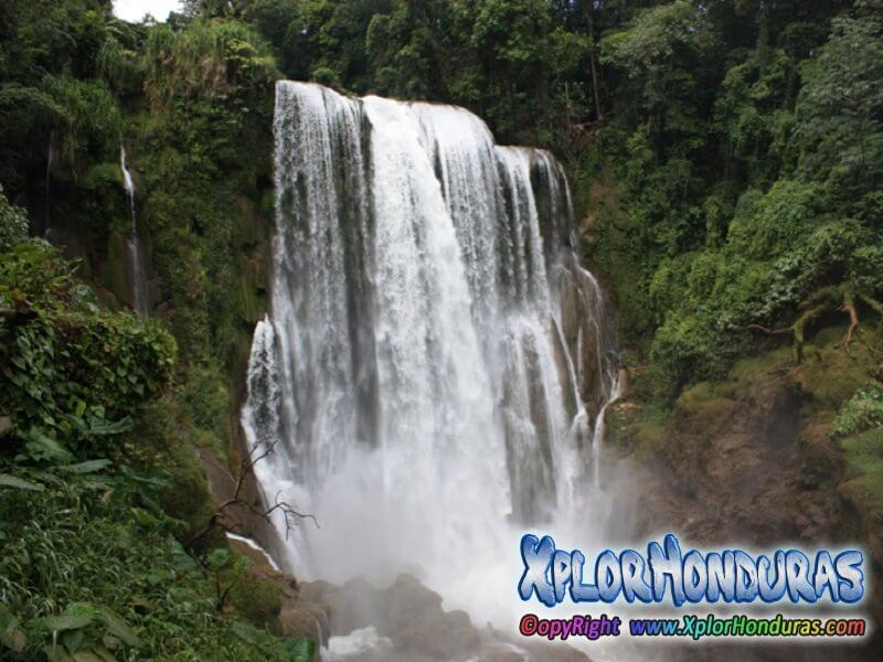 Cascadas de Honduras Cataratas de Pulhapanzak