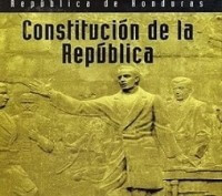 Constitucion de La Republica de Honduras portada