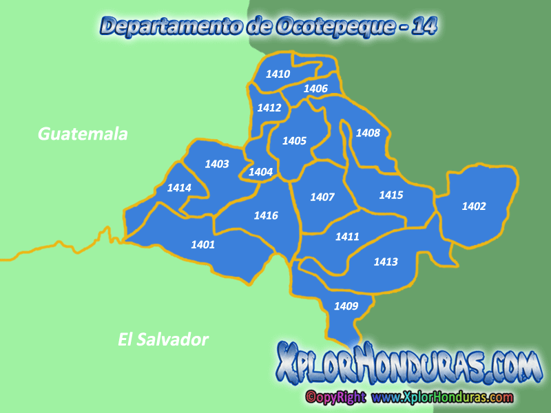 Departamento de Ocotepeque  Honduras  XplorHonduras Honduras