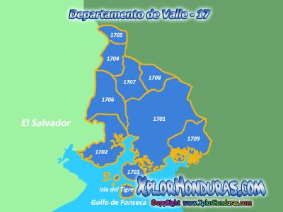 Departamento de Valle y sus Municipios