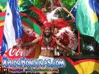 Desfile de Carrozas Carnaval de La Ceiba 2014 Parte 1