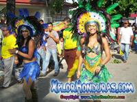Desfile de Carrozas Carnaval de La Ceiba 2014 Parte 5