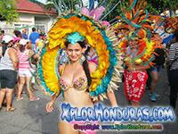 Desfile de Carrozas y comparsas La Ceiba 2014 Parte 4