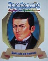 Dionisio de Herrera Heroes Nacionales de Honduras