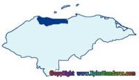 division politica de honduras departamento atlantida