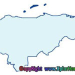 division politica de honduras departamento islas de la bahia