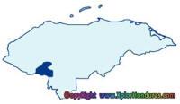 division politica de honduras departamento la paz