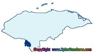 Division Politica de Honduras Departamento de Valle