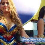 Desfile de carrozas, gran carnaval de La Ceiba 2013
