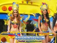 Fotos desfile de Carrozas Carnaval de La Ceiba 2015