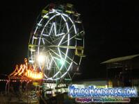 fotos juegos mecanicos, carnaval La Ceiba 2013
