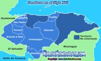Honduras en el siglo XVI Division Politica de Honduras