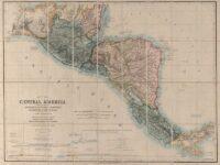 Mapa de America Central John Baily