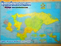 Mapa de Honduras Portada