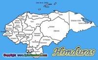 División Politica de Honduras