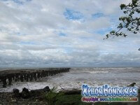 Marea Alta en Mar de La Ceiba