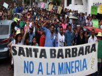 Municipios libres de Mineria en Honduras