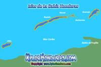 Nombre de las Islas de Roatan Morat y barbareta Portada