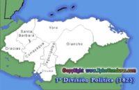 Primera Division Politica de Honduras 1825