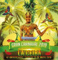 Programación del Carnaval de La Ceiba 2019