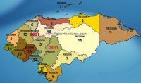 Regiones Sanitarias de Salud Honduras