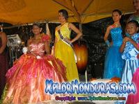 Reina Carnavalito Barrio La Merced Carnaval de La Ceiba 2014