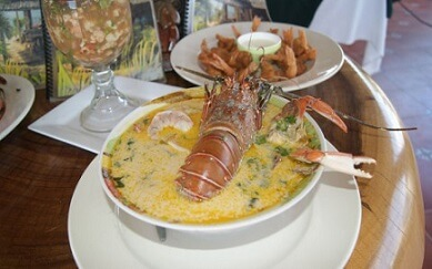 Rica Gastronomia de San Lorenzo